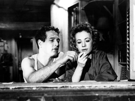 The Hustler, Paul Newman, Piper Laurie, 1961 Photo