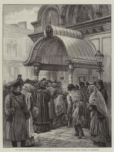 The Illness of the Czar Giclee Print