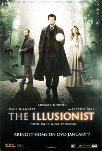 The Illusionist オリジナルポスター