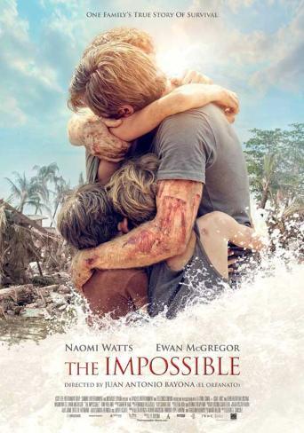 The Impossible (Naomi Watts, Ewan McGregor, Tom Holland) Movie Poster Masterprint