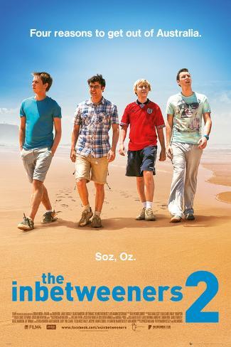 The Inbetweeners Movie 2 Póster