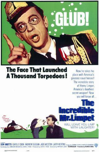 The Incredible Mr. Limpet Masterprint