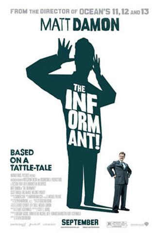 The Informant Double-sided poster