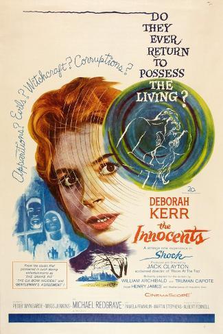 The Innocents Art: Center: Deborah Kerr, 1961 Art Print