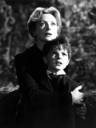 The Innocents, Deborah Kerr, Martin Stephens, 1961 Photo