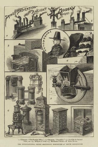 The International Smoke Abatement Exhibition at South Kensington Giclee Print
