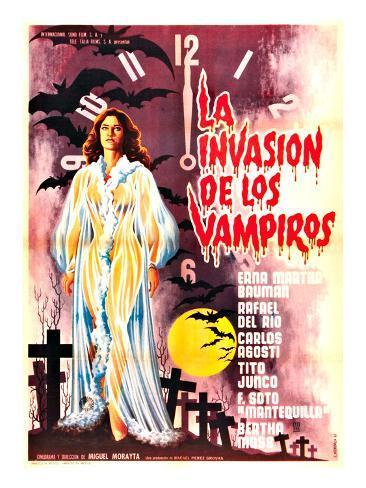 The Invasion of the Vampires, (aka La Invasion De Los Vampiros), 1963 Photo