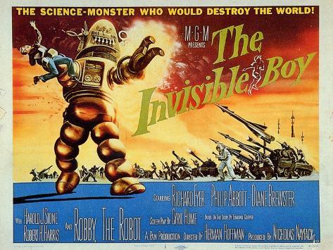 The Invisible Boy, 1957 Stampa artistica
