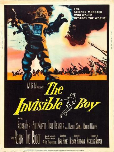 The Invisible Boy, Robby the Robot, 1957 Photo