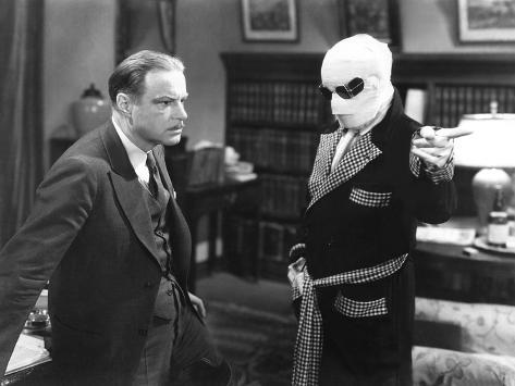 The Invisible Man, William Harrigan, Claude Rains, 1933 Photo