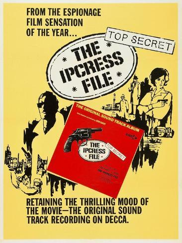 The Ipcress File, 1965 Giclee Print