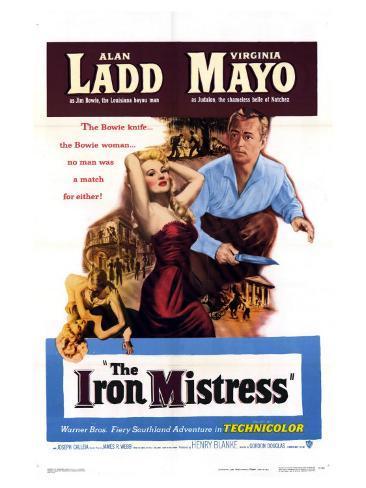 The Iron Mistress, 1952 Art Print