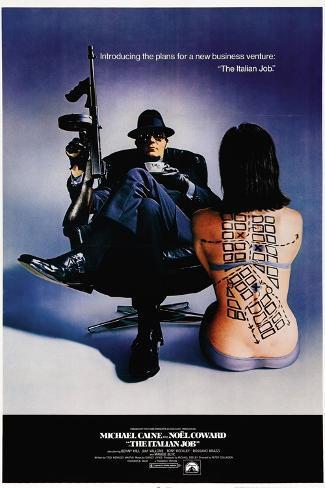 The Italian Job, 1969, Directed by Peter Collinson Impressão giclée