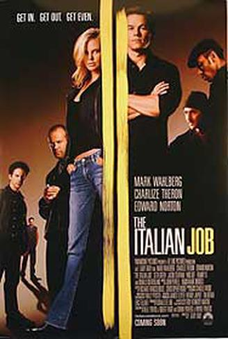 The Italian Job 2003 Pôster original