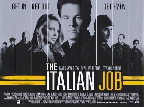 The Italian Job Masterprint