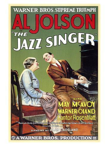 The Jazz Singer, 1927 Art Print