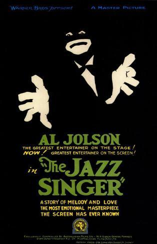 The Jazz Singer Masterprint