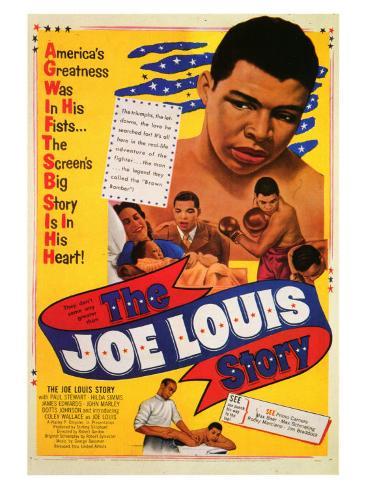 The Joe Louis Story, 1953 Art Print