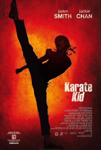 The Karate Kid - German Style Poster