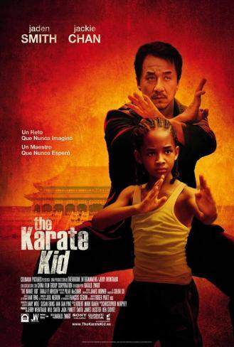 The Karate Kid - Spanish Style Poster