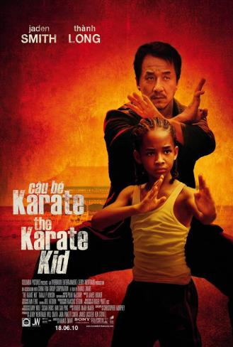 The Karate Kid - Taiwanese Style Poster