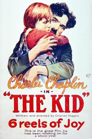 The Kid, 1921, Directed by Charles Chaplin ジクレープリント