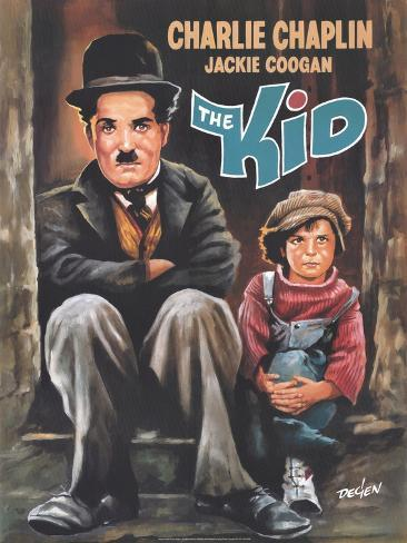 The Kid, 1921 Art Print