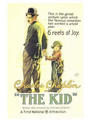 The Kid, 1921 Art Print