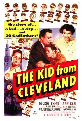 The Kid From Cleveland Poster