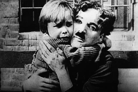 The Kid, Jackie Coogan, Charles Chaplin, 1921 Photo