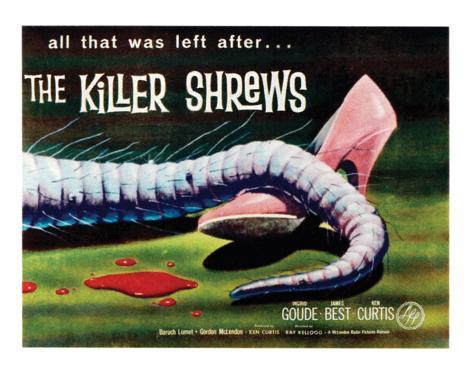 The Killer Shrews - 1959 I Giclee Print