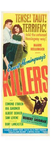 The Killers, 1946 Stretched Canvas Print