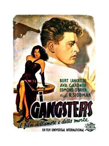 The Killers, (AKA I Gangsters), Ava Gardner, Burt Lancaster, 1946 Giclée-vedos