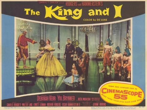 The King and I, 1956 Art Print