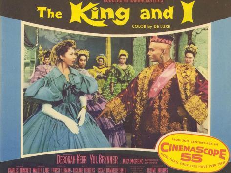 The King and I, 1956 Lámina
