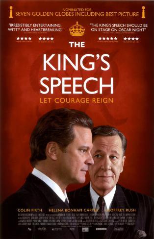 The King's Speech Masterprint