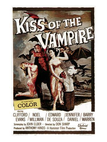 The Kiss of the Vampire, 1963 Photo