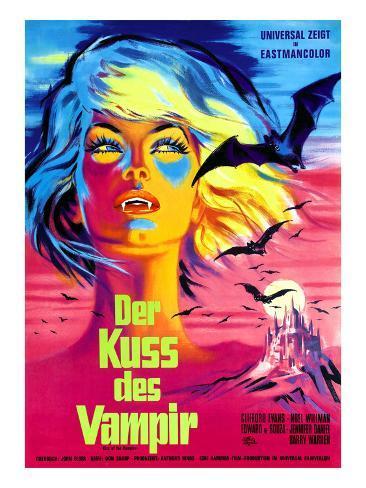 The Kiss of the Vampire, (aka Kiss of the Vampire), 1963 Photo