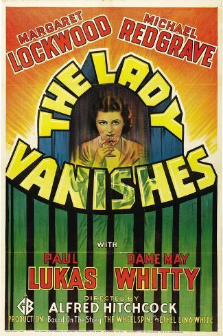 The Lady Vanishes, 1938, Directed by Alfred Hitchcock Impressão giclée