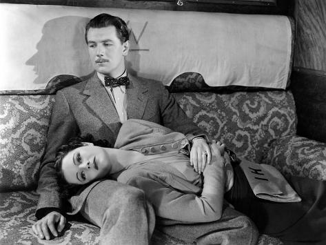 The Lady Vanishes, Michael Redgrave, Margaret Lockwood, 1938 Photo