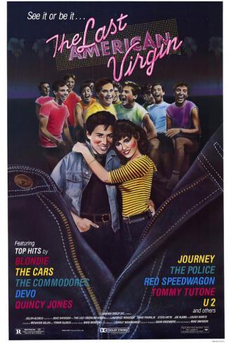 The Last American Virgin Poster