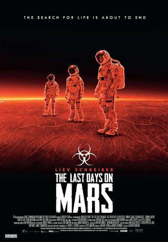 The Last Days on Mars Masterprint