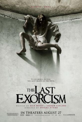 The Last Exorcism Double-sided poster