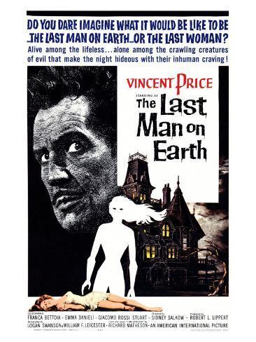 The Last Man on Earth, 1964 Art Print