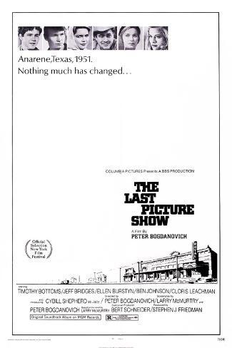 The Last Picture Show, 1971 Art Print