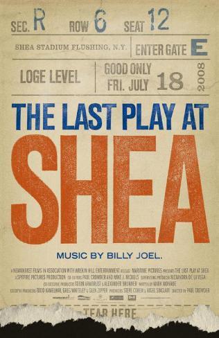 The Last Play at Shea Masterprint