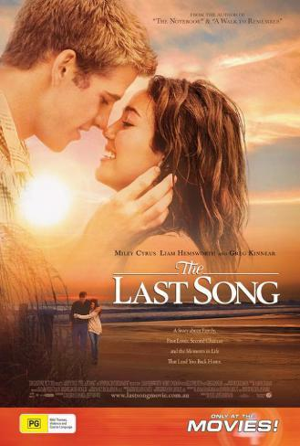 The Last Song - Australian Style Poster