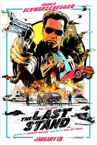The Last Stand (Arnold Schwarzenegger, Forest Whitaker, Johnny Knoxville) Movie Poster Masterprint