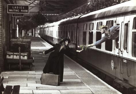 The Last Train Art Print Poster Mini Poster