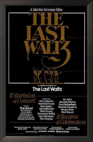 The Last Waltz Impressão artística emoldurada